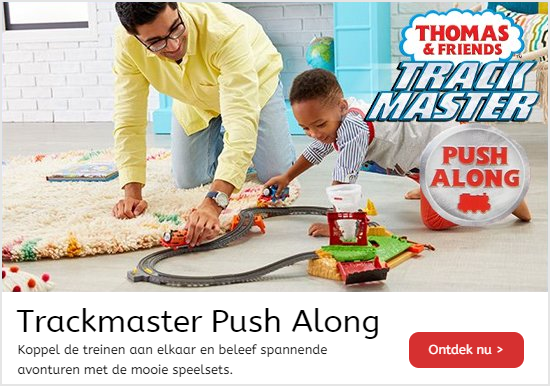 Thomas de Trein Trackmaster Push Along