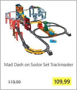 Mad Dash On Sodor Set Trackmaster