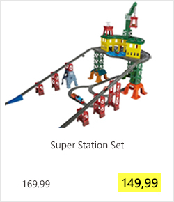 Super Station Set Thomas de Trein