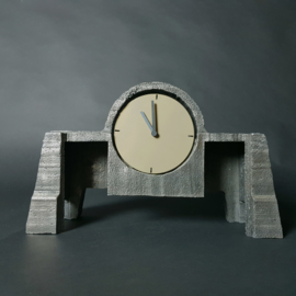 casted clock sample