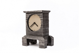 Cut-out tall clock