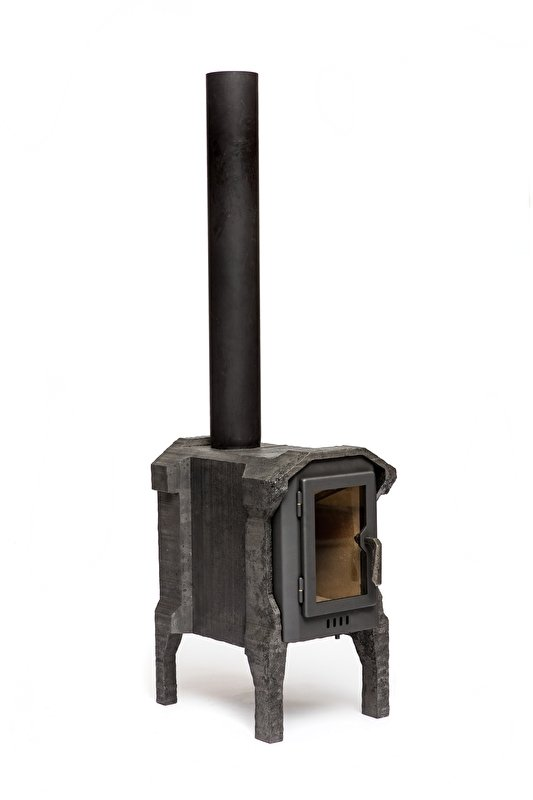 Cut-Out Square Stove