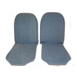 Jeans set voorstoelen en achterbank
