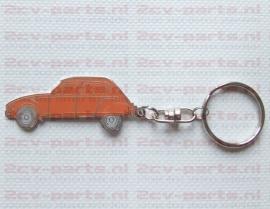 Sleutelhanger dyane oranje
