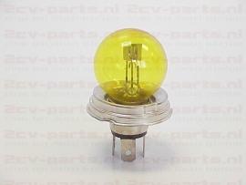 Gloeilamp duplo 40-45 watt 12volt geel