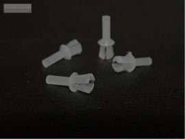 Plastic popnagel