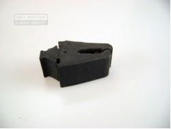 Rubber voorscherm op chassis
