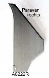 Paravan rechts 2cv zincor