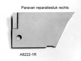 Paravan reparatiestuk rechts 2cv zincor