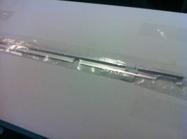Sierlijst achterscherm aluminium ++