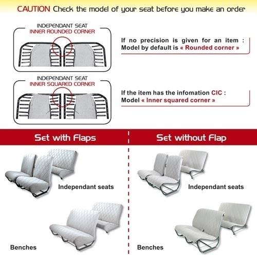 Bel ons voor stoel en/of bank hoezen. Er zijn heel veel kleuren, stoffen en verschillende kwaliteiten wel of niet verkrijgbaar, ronde of rechte hoeken.