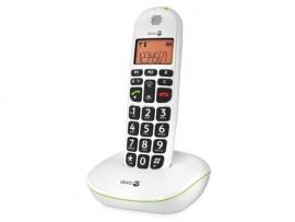 Loop telefoon voor slechthorenden, Doro PhoneEasy 100w wit