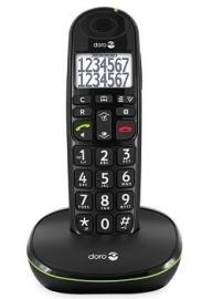 Loop telefoon voor slechthorenden, Doro PhoneEasy 110 zwart