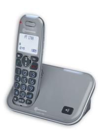 Draadloze telefoon voor slechthorenden, Dect telefoon - PowerTel 1700 slechthorenden