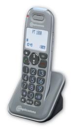 Telefoon voor slechthorenden met antwoordapparaat, Amplicomms 1880 - 269
