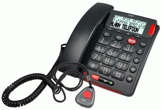 Telefoon met alarmknop - Fysic Alarmtelefoon - FX-3850
