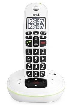 Loop telefoon voor slechthorenden, Doro PhoneEasy 115 wit