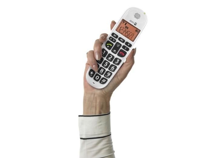 Looptelefoon voor slechthorenden