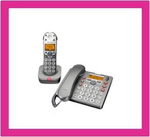 combinatie telefoon voor slechthorenden