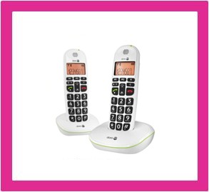 Loop telefoon (dect) voor slechthorenden