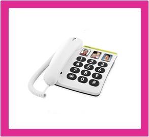 Vaste telefoon voor slechthorenden