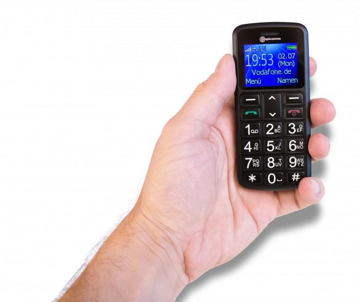 mobiele telefoon voor slechthorenden