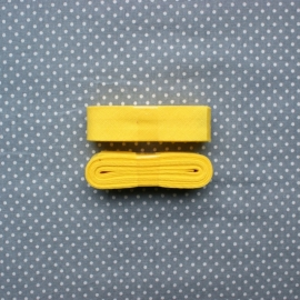 Biaisband geel
