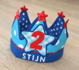 """Verjaardagskroon """"Stijn"""""""
