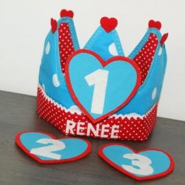 """Verjaardagskroon """"Renee"""""""