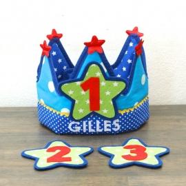 """Verjaardagskroon """"Gilles"""""""