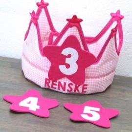 """Verjaardagskroon """"Renske"""""""