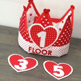 "Verjaardagskroon ""Floor"""
