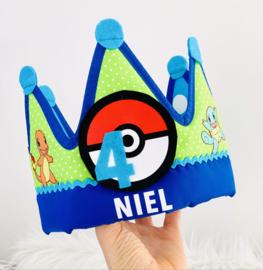 Verjaardagskroon Pokémon