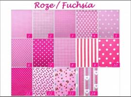 Roze & fuchsia stoffen