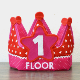 Verjaardagskroon Floortje