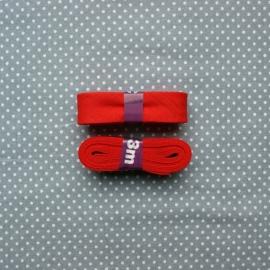 Biaisband rood