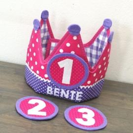 "Verjaardagskroon ""Bente"""