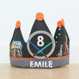 Verjaardagskroon Star Wars