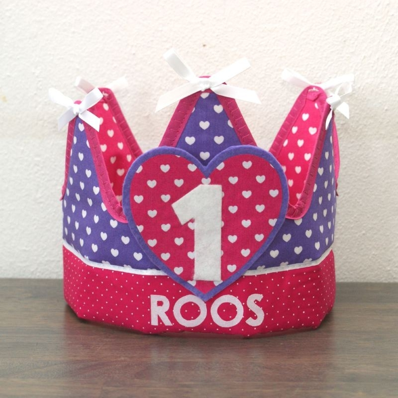 """Verjaardagskroon """"Roos"""""""