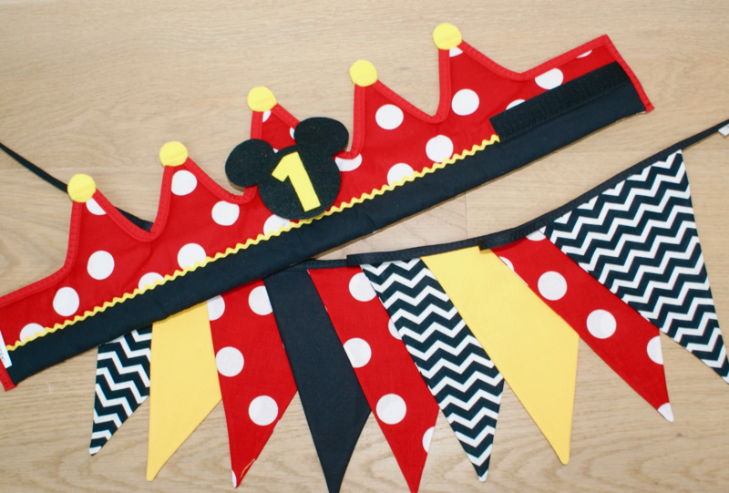 Verjaardagskroon Mickey Mouse