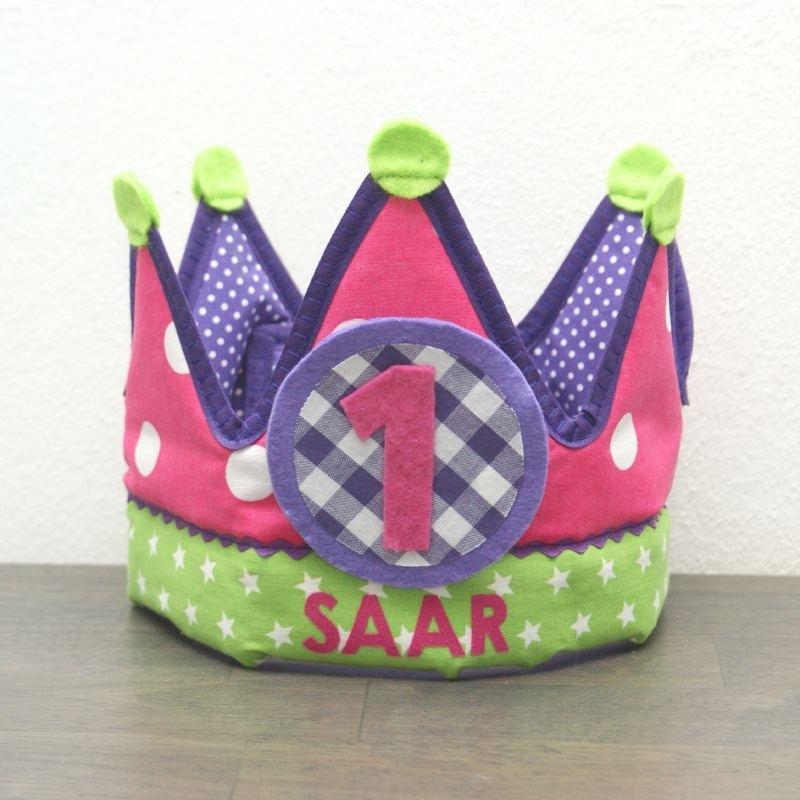 """Verjaardagskroon """"Saar"""""""