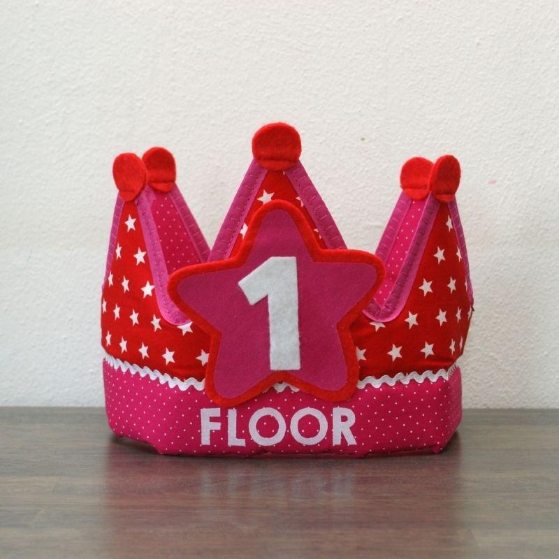 "Verjaardagskroon ""Floortje'"