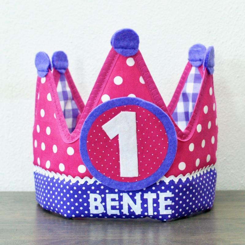 Verjaardagskroon Benthe