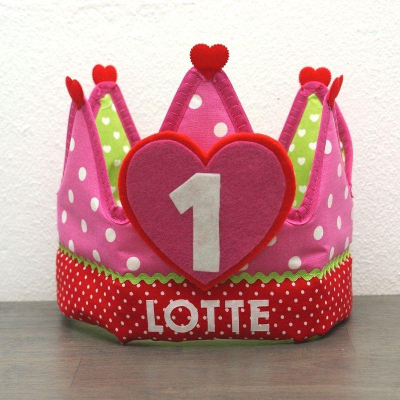 """Verjaardagskroon """"Lotte"""""""