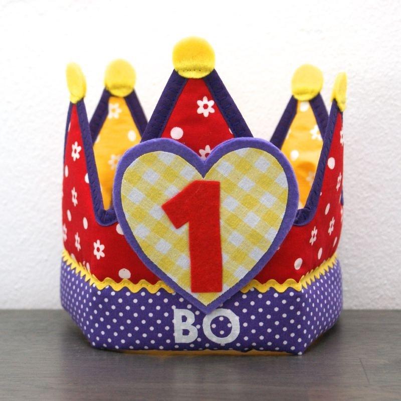"""Verjaardagskroon """"Bo"""""""