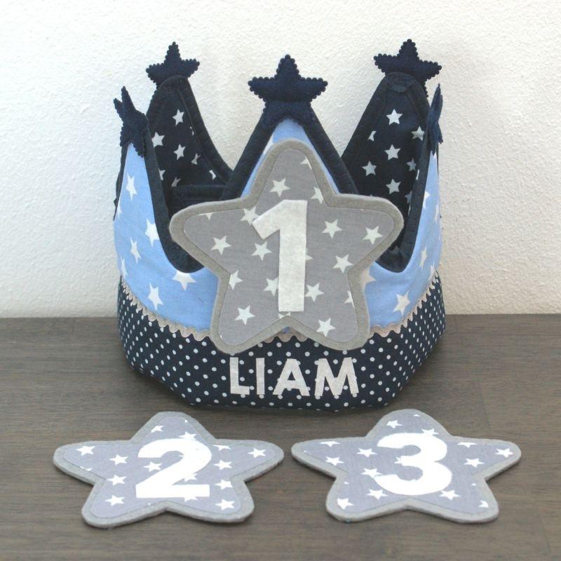 """Verjaardagskroon """"Liam"""""""