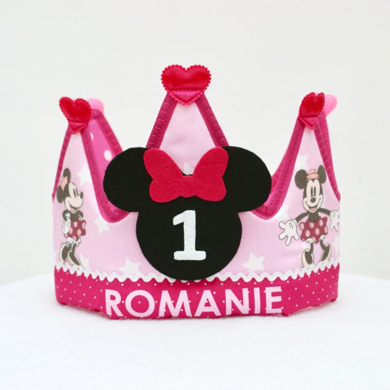 Verjaardagskroon Minnie Mouse