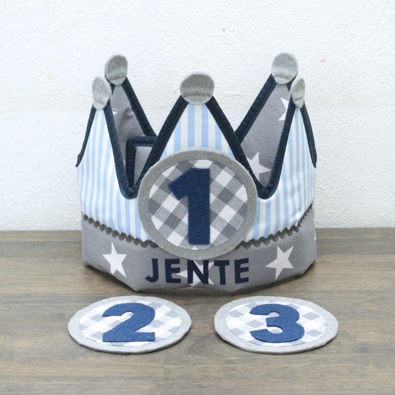 "Verjaardagskroon ""Jente"""