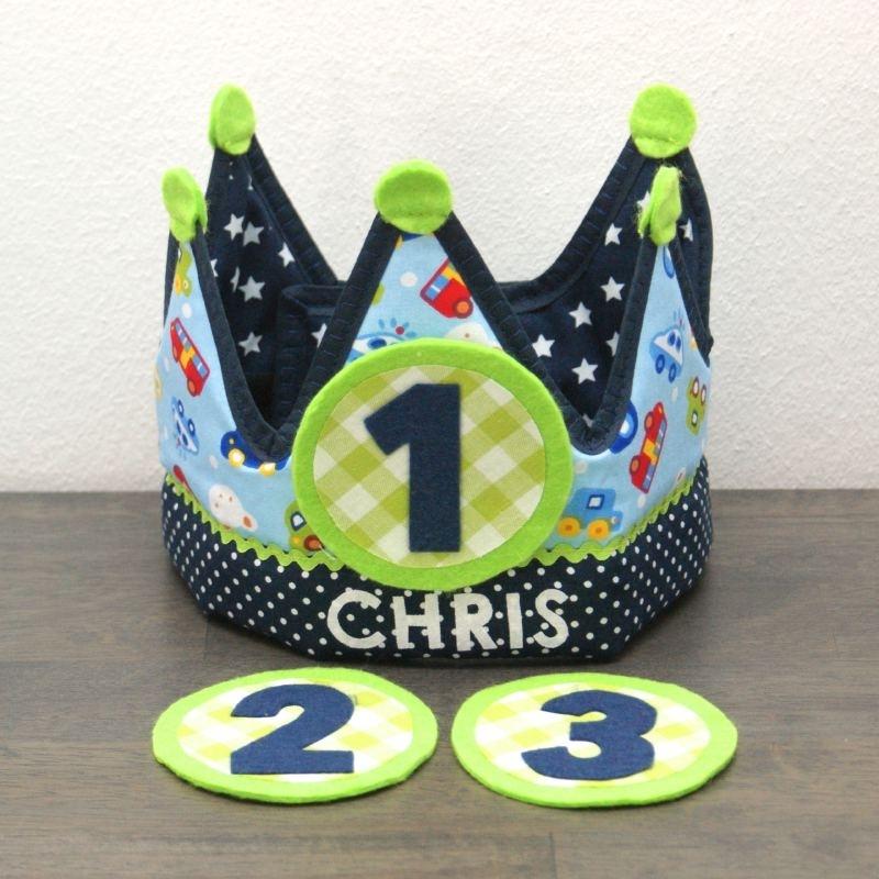 """Verjaardagskroon """"Chris"""""""