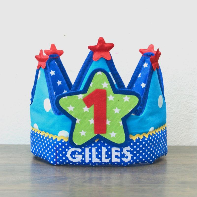 Verjaardagskroon Gilles